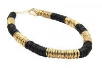 Collier ethnique chic africain artisanal pour femme