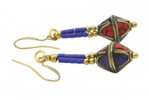 Boucles d'oreilles Tibet