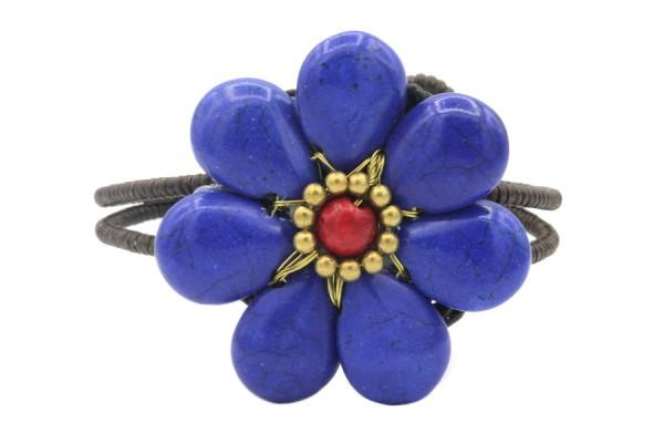Bracelet fleur poignet, bijoux floral pour mariage