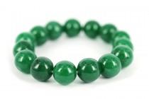 Bracelet en jade Vert et Blanc