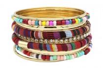 Bracelet trois métaux
