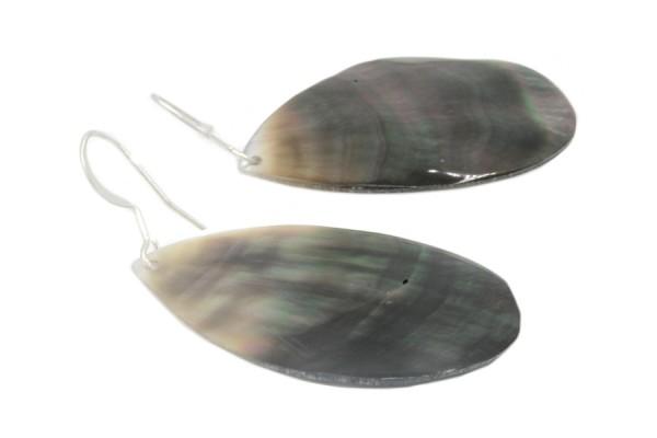Boucles d'oreilles nacre Tahiti