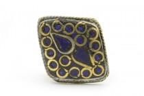 Bague lapis lazuli femme homme