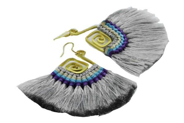 Boucles d'oreilles Aztek