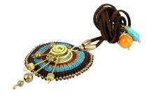 Collier avec pendentif cercle