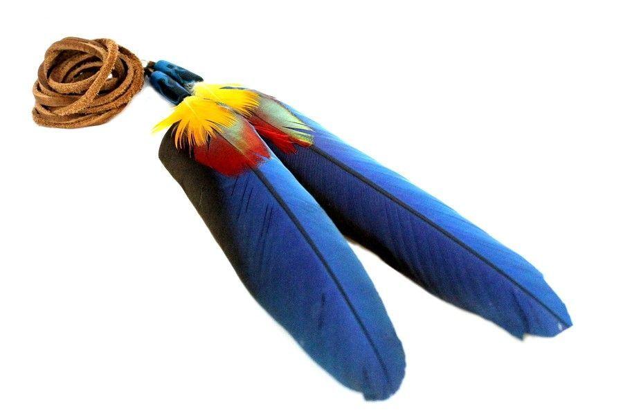 Collier plumes sautoir indien - Comment laver une couette en plume ...