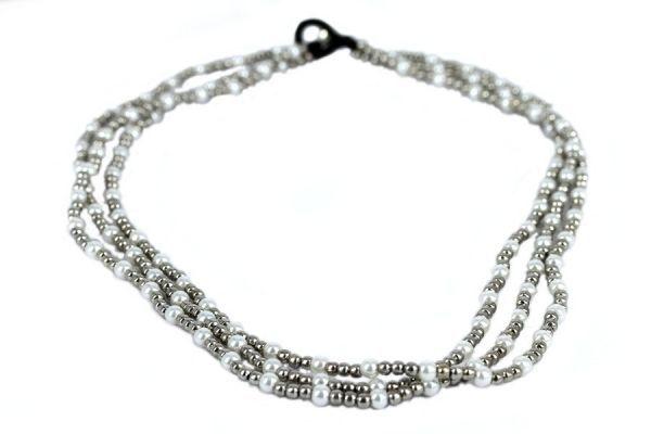 Collier perles Chic
