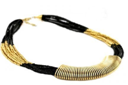 Collier ethnique style africain