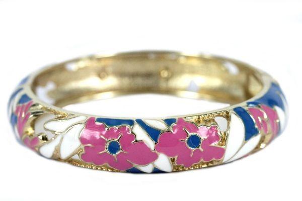 Bracelet fleurs du Kerala