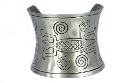 Bracelet argent indien d'amérique