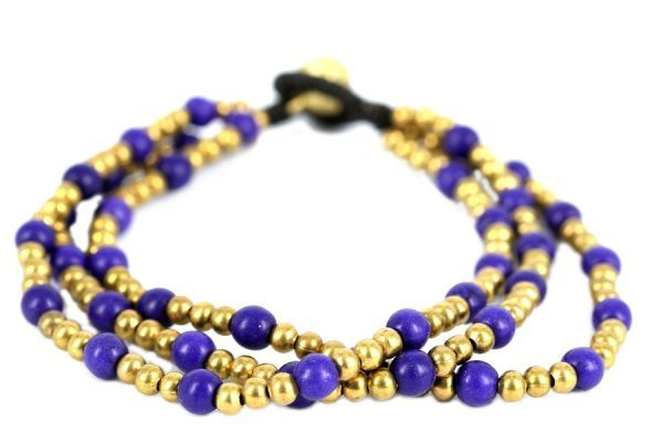 Bracelet perles Vintage