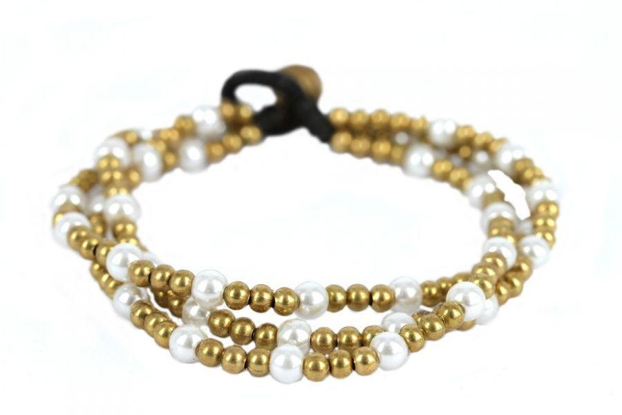 bracelet femme pas cher perle