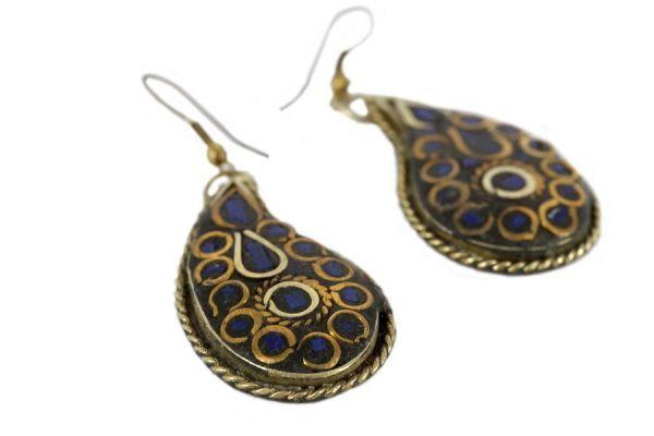 Boucles d'oreilles Pondichéry