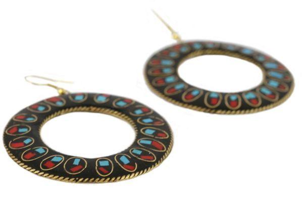 Boucles d'oreilles Rajasthan