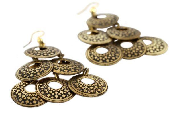 Boucles d'oreilles Darjeeling