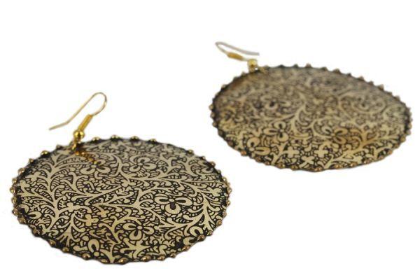 Boucles d'oreilles Kerala
