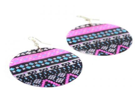 Boucles d'oreilles aztèque
