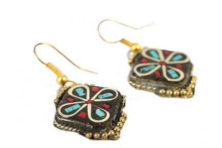 Boucles d'oreilles du Tibet