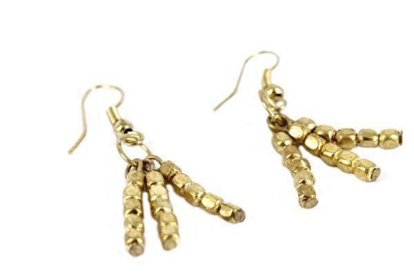 Boucles d'oreilles Nubian