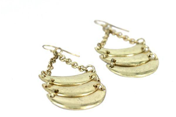 Boucles d'oreilles Zambie