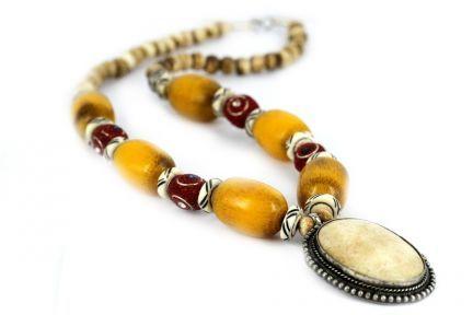 Bijoux collier artisanal original