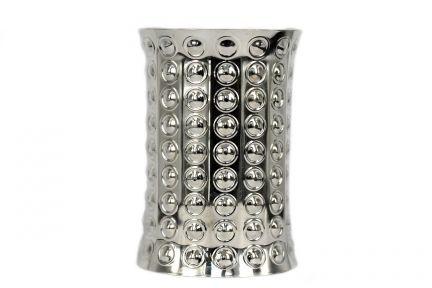 Bracelet large femme argent