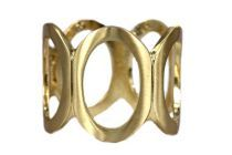 Bracelet doré et large