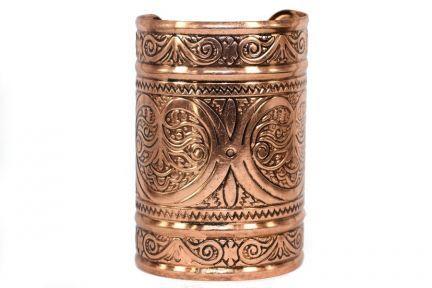 Bracelet original fantaisie métal argent, perles et cuir