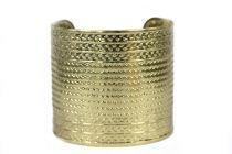 Bracelet manchette or pas cher
