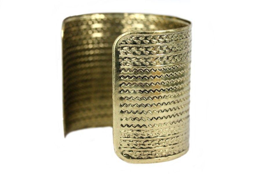 Bracelet manchette or pas cher for Porte bracelet pas cher