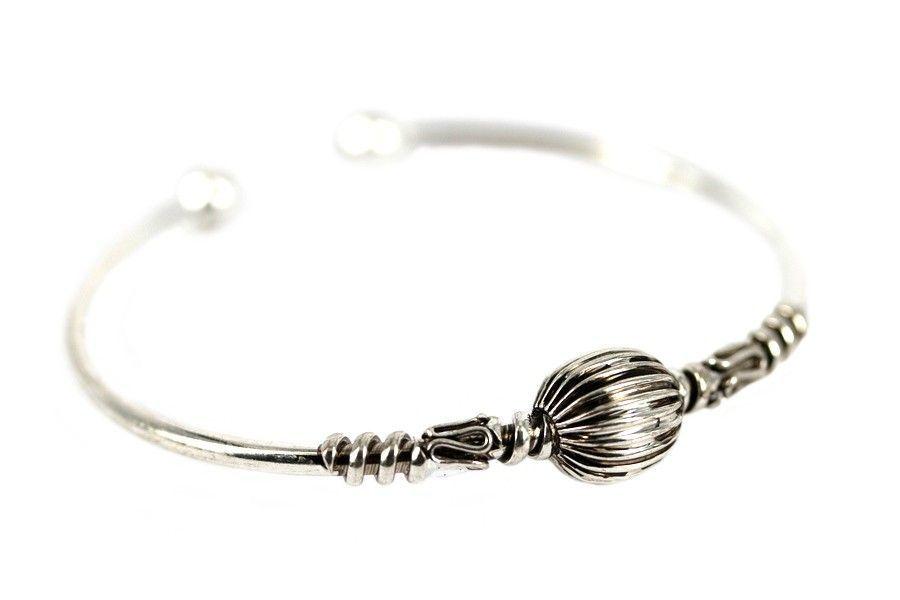 bracelet argent nepal
