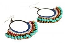 Boucles d'oreilles de style indien