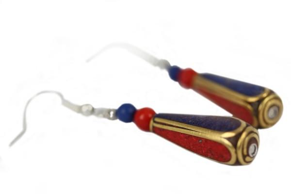 Boucles d'oreilles Sanskrit