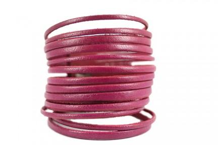 Bracelet rose fushia pour fille