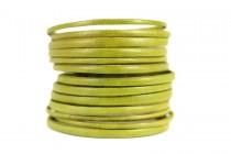Bracelet vert anis d'eau
