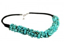 Collier turquoise indien pas cher