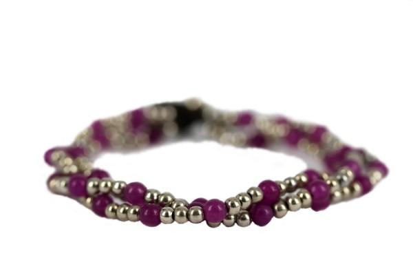 Bracelet perles rétro