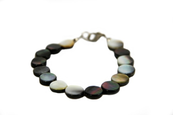 Bracelet perles de nacre