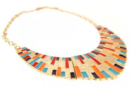 Collier triangle aztèque