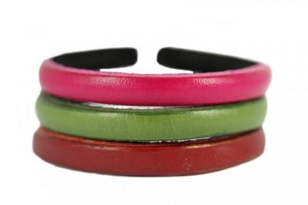 Bracelet en cuir réglable ajustable