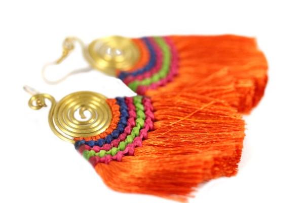Boucles d'oreilles Inka