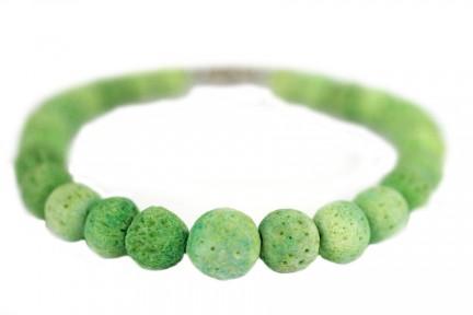 Bracelet en perles de corail