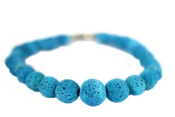 Bracelet en corail turquoise