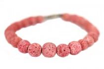 Bracelet en corail rose véritable