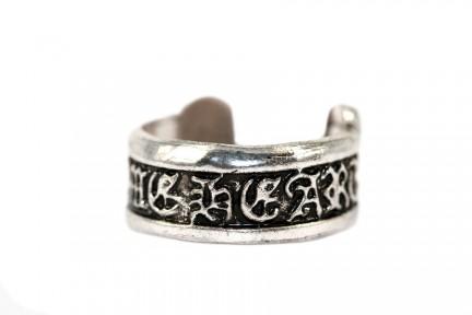 Bague argent Tibet anneau ajustable
