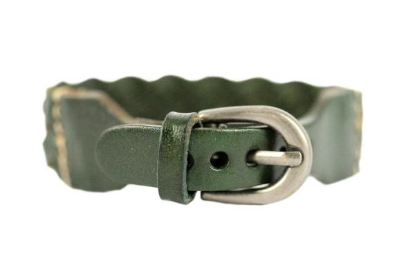 Bracelet en cuir homme artisanal