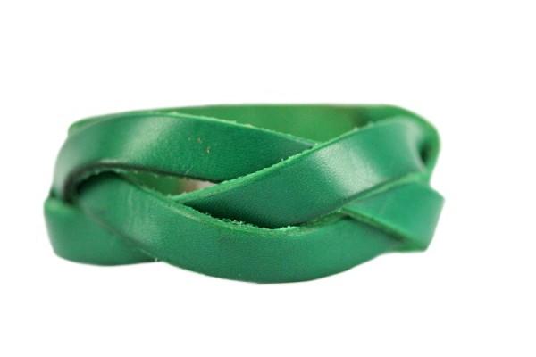 Bracelet en cuir artisanal d'artisan
