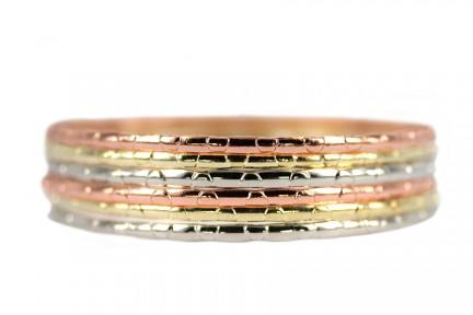 Bracelet manchette multi rangs