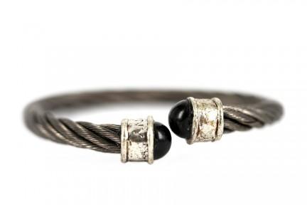 Bracelet vintage argent chic