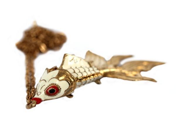 Collier long chic avec chaîne
